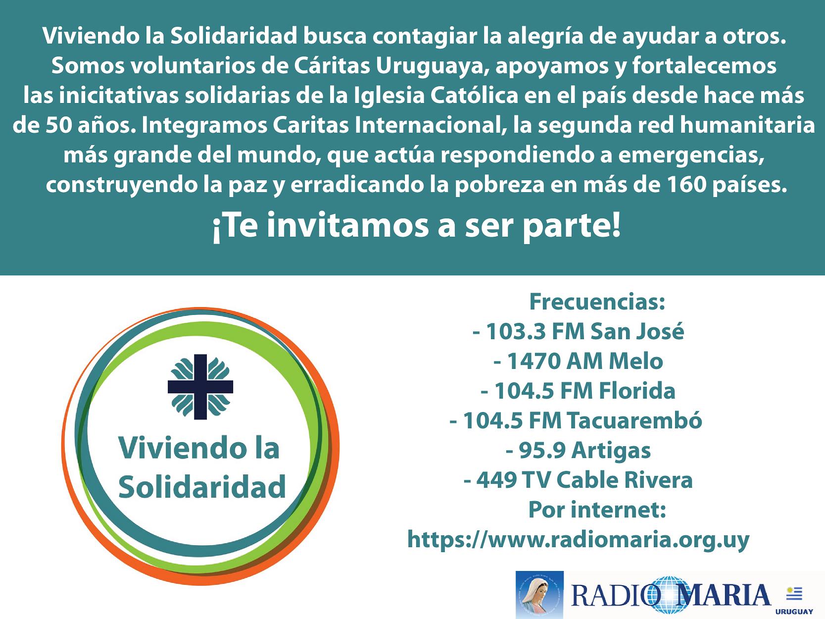 Promo_Viviendo la solidaridad