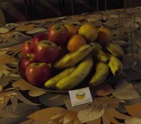 canasto frutas